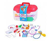 Детский игровой набор Доктор в чемодане 35 атрибутов