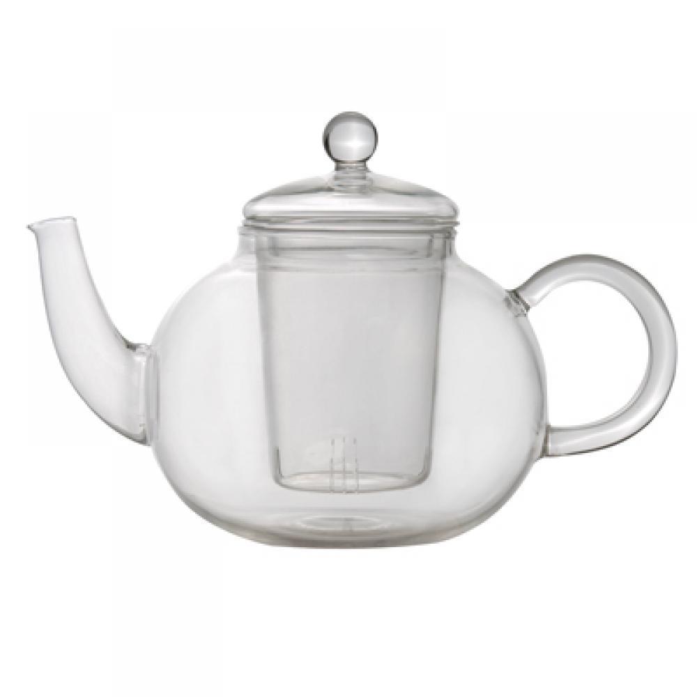 Чайник заварочный стеклянный, 1 л