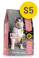 Сухой корм Nutram S5 Sound Balanced Wellness Adult/Urinary Cat 5кг