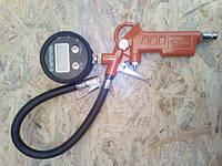 Пистолет для накачки шин INTERTOOL с цифровым манометром 63 мм INTERTOOL PT-0508