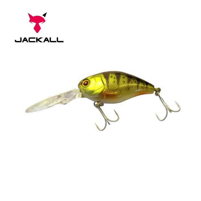 Воблер Jackall DD Chubby 38 38мм 4.7г Ghost G Perch 1,5-2м F (1699.05.85  4525807078268)