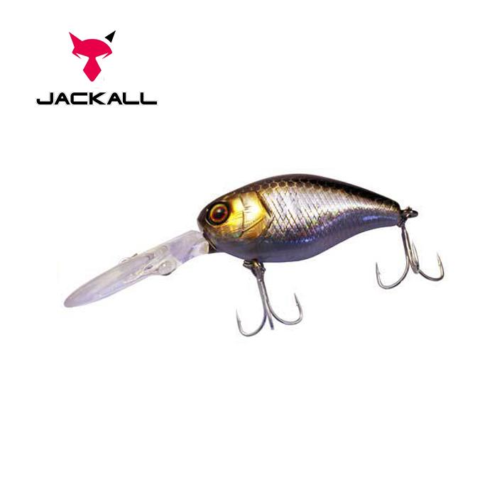 Воблер Jackall DD Chubby 38 38мм 4.7г HL Silver & Black 1,5-2м F (1699.05.84  4525807078497)