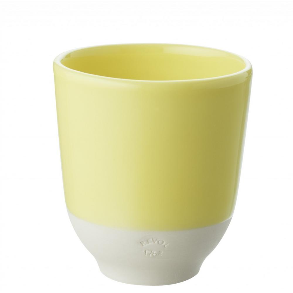 Чашка для чая Color Lab, лимонная, диам. 8 см, Н 8,8 см, 0,2 л