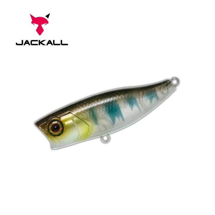 Воблер Jackall Chubby Popper 42 42мм 3,3г Ghost Oikawa F (1699.09.67  4525807087222)
