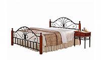 Кровать двуспальная металлическая 1,6 AT-9027 QB, Киев