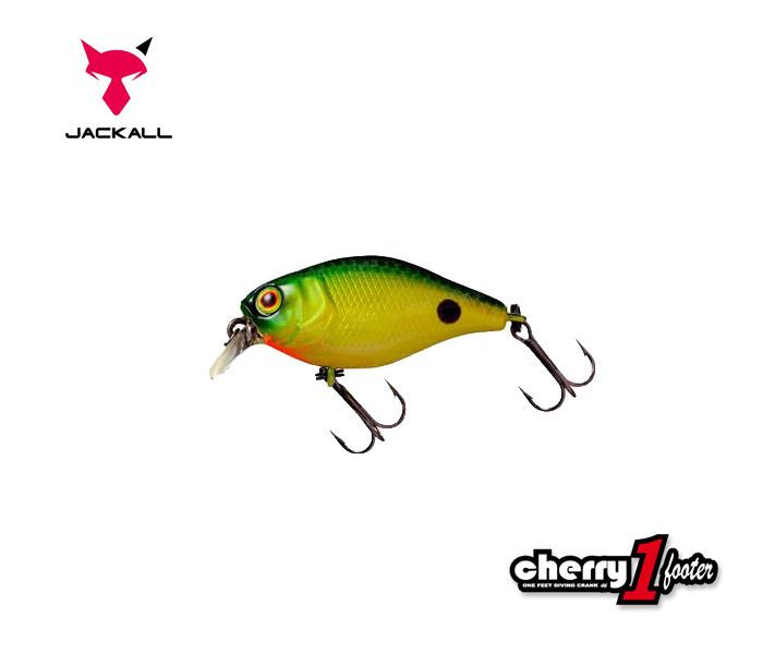 Воблер Jackall Cherry One Footter 46мм 7,2 г Noike Green Back Floating (1699.00.43 4525807039511)