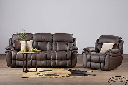 Стильный кожаный диван Boston / Бостон, фото 2