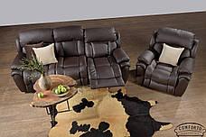 Стильный кожаный диван Boston / Бостон, фото 3
