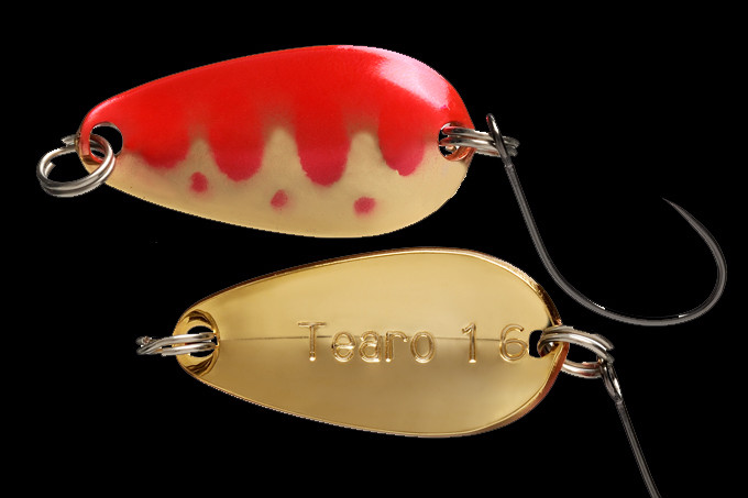 Блесна Jackall Tearo 0.7g 15 Red & Gold Yamame (1699.12.08  4560212115566)