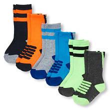 Шкарпетки для хлопчика 12-24 міс, 6 шт