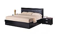 Кровать двуспальная из МДФ 1,6 Гавана, экокожа, Киев