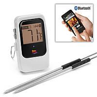 Цифровой Bluetooth термометр для гриля, белый