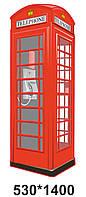 Декоративні стенди для кабінету англійської мови - телефонна будка