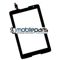 Оригинальный Сенсор (Тачскрин) к планшету Lenovo A5500 | A8-50  (Черный-Самоклейка)