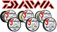 Шнур DAIWA J-BRAIDX8 JB8U120-300WH300м 0,55 120lb (14690866)
