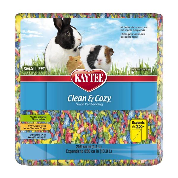 Kaytee Clean&Cozy BirthdayCake Клин&Кози ЧИСТО&УЮТНО КЕЙК подстилка для грызунов, целлюлоза, разноцветная 4.1k