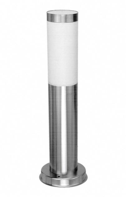 Светильник 40Вт Е27 садово-парковый POLE 0450 нержавеющая сталь Delux (90011344)