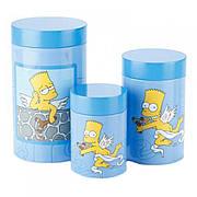 Набор из 3-х банок Simpsons