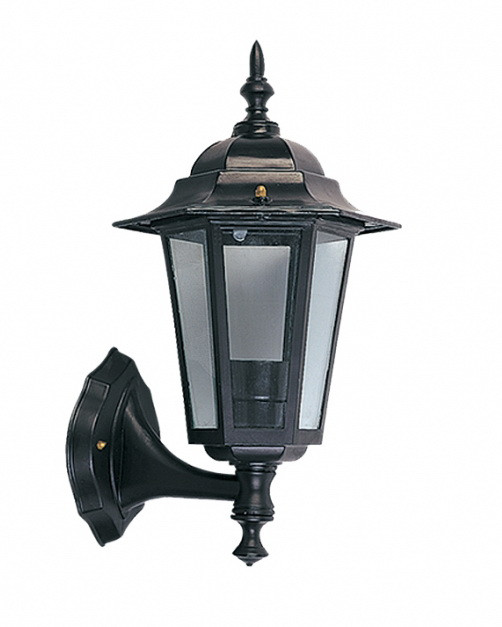 Светильник 60Вт Е27 черный садово-парковый PALACE A001 Delux