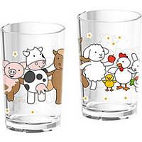 Питьевой стакан для детей Ферма 0,2 л.