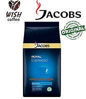 Кофе в зёрнах Jacobs Royal Espresso - Зерновой кофе Якобс Роял Эспрессо Классик 1000г (1кг)