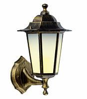 Светильник PALACE A001 черный-золото садово-парковый Delux - АКЦИЯ + лампа в подарок