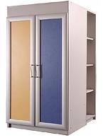 Шкаф 700 со стеллажами низкий La7, Пионер, фото 1