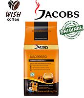 Кофе в зёрнах Jacobs Espresso Temperamentvoll 1000 g (Якобс Эспрессо Темпераментволль 1кг)