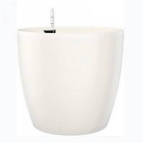 Цветочный горшок CASA BRILLIANT 22см (Белый), фото 2