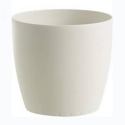 Цветочный горшок CASA 43см (Белый), фото 2
