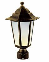 Светильник PALACE A03 черный-золото садово-парковый Delux