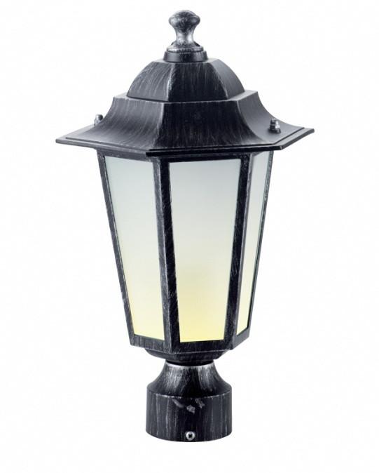 Светильник PALACE A03 черный-серебро садово-парковый Delux