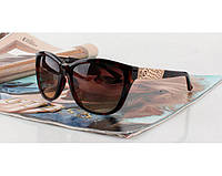 Солнцезащитные очки в стиле Guess (GU 7417 brown) Lux