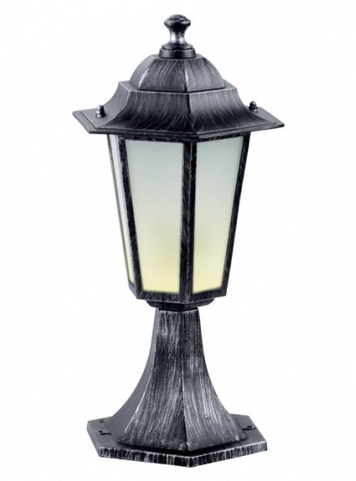 Светильник PALACE A04 черный-серебро садово-парковый Delux