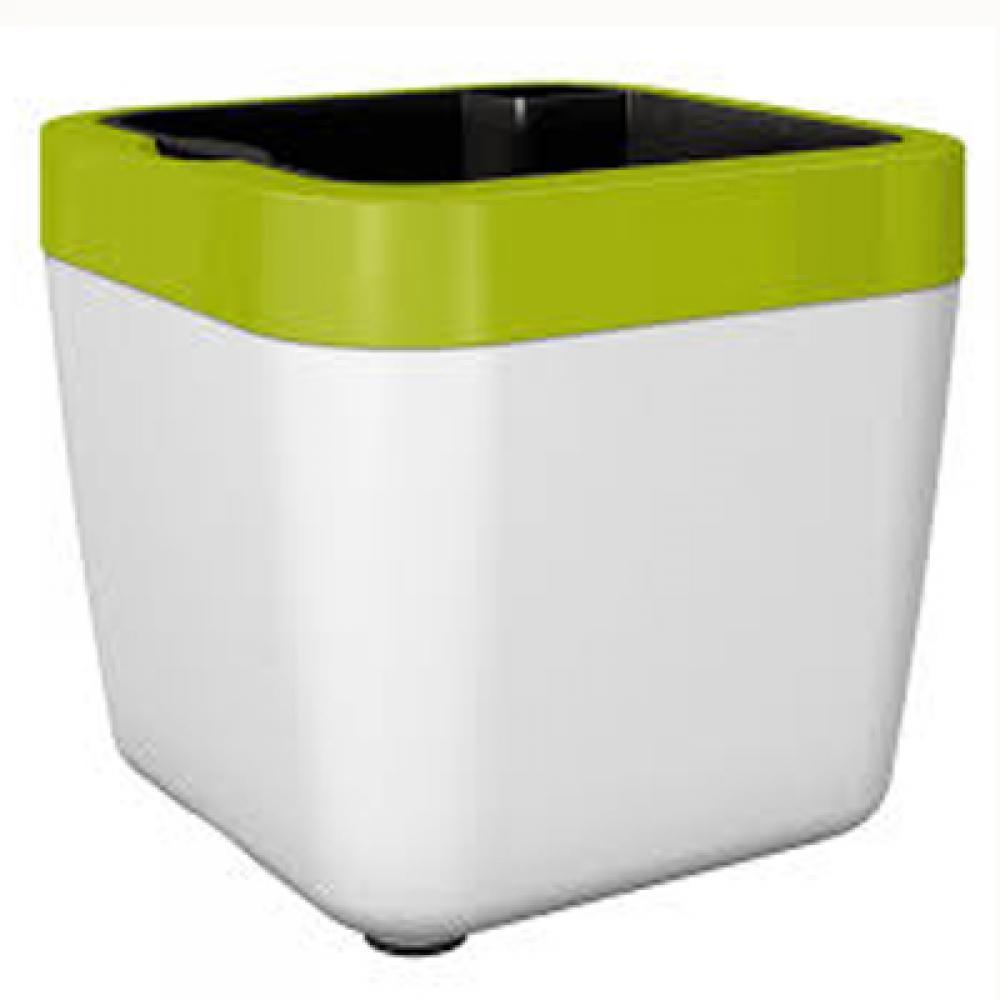 Цветочный горшок MYBOX 35 х 35 х 34см (Белый)