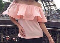 Блуза с воланом женская, фото 1