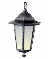 Светильник PALACE A05 черный-серебро садово-парковый Delux