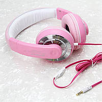 Наушники Gorsun GS-962С pink
