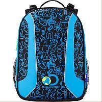 Рюкзак школьный каркасный KITE Disсovery DC17-703M
