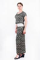 Женский комплект юбка, майка и футболка. VOGUE 10025. Размер 44-46.