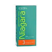 """Набір для хімічної завивки """"Estel"""" Niagara для фарбованого волосся (100ml)"""