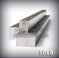 Шпоночный материал 10х8 сталь 45 ГОСТ 8787-68 (DIN 6880) метровый, фото 1
