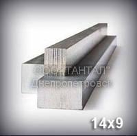Шпоночный материал 14х9 сталь 45 ГОСТ 8787-68 (DIN 6880) метровый