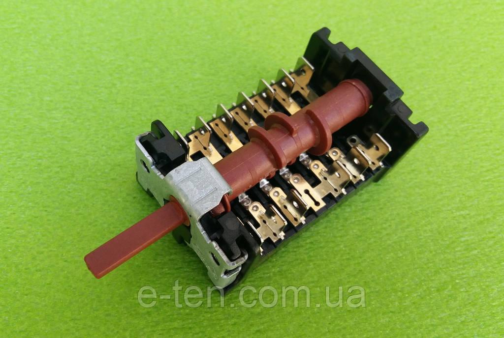 Переключатель пятипозиционный 850511 / 16А / 250V / Т150 для электроплит, электродуховок  7LA-GOTTAK,Barcelona
