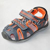 Босоножки сандалии для мальчика на мальчиков мальчику Tom.M оранж Спорт 27р.