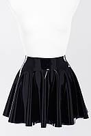 Пышная юбка из латекса