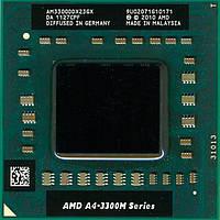 Процессор S-FS1 AMD A4-3300M 1.9-2.5GHz (AM3300DDX23GX)