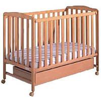 Кроватка детская Micuna Basic 2цвет медовый, дерево бук (BASIC 2 HONEY)