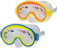 Маска для подводного плавания Intex 55911 от 3 до 8 лет: 2 цвета (Intex 55911)