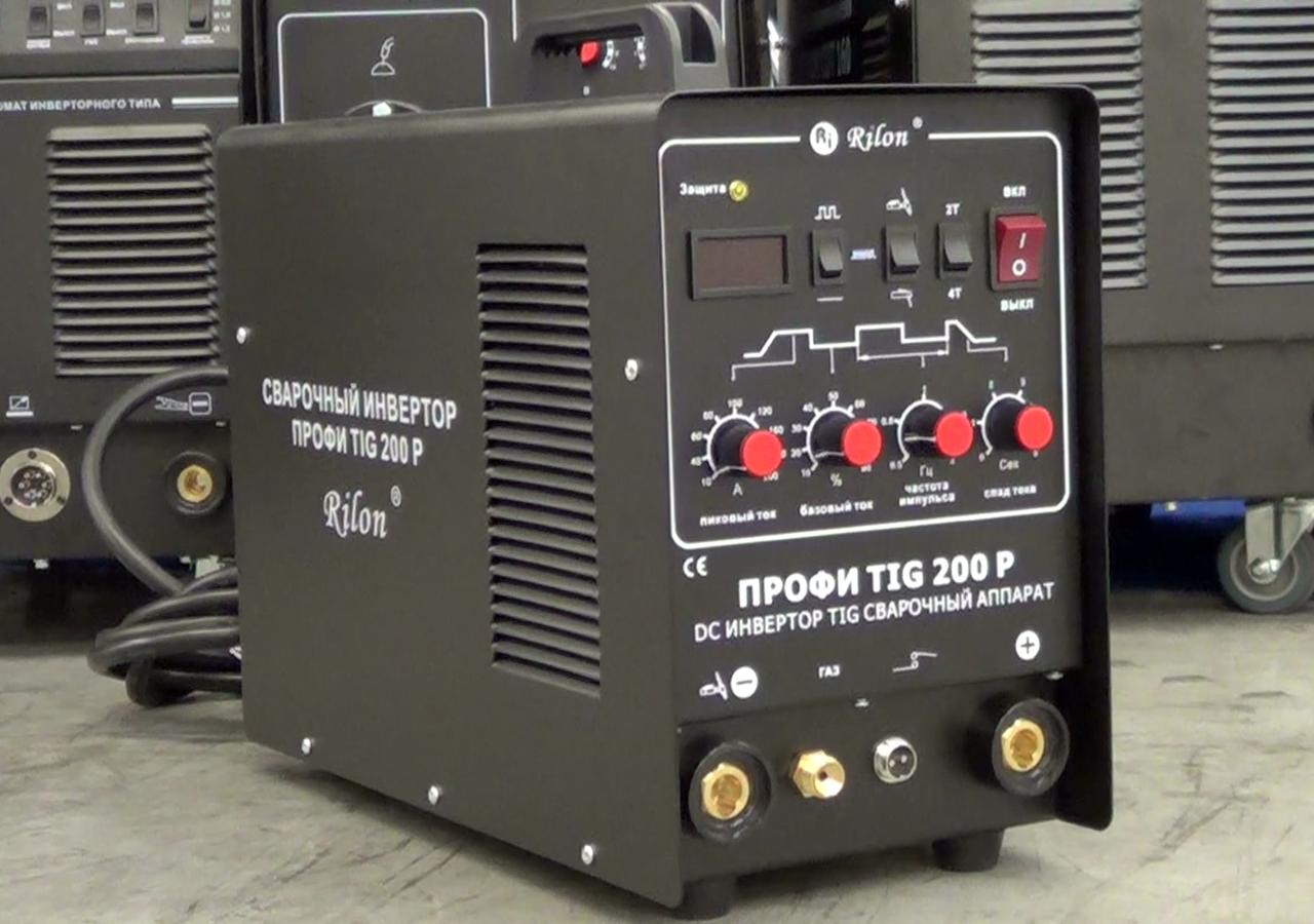Сварочный инвертор Rilon Профи TIG 200P фото 1